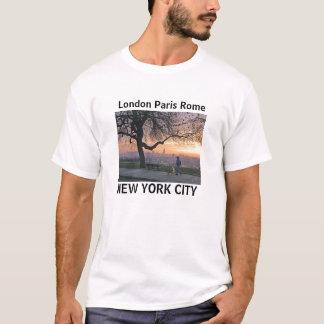Camiseta Londres Paris t-shirt de Roma, Nova Iorque