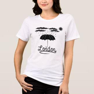 Camiseta Londres | sob um guarda-chuva