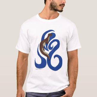 Camiseta Lontra da natação