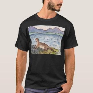 Camiseta lontra do loch