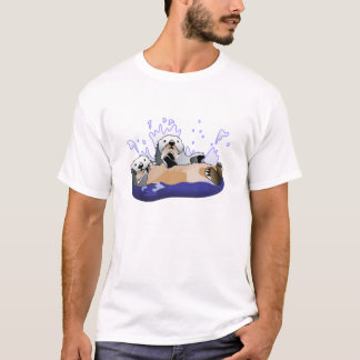 Camiseta Lontras