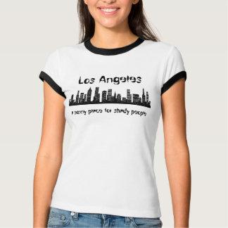 Camiseta Los Angeles, um lugar ensolarado para obscuro…