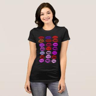 Camiseta Lotes do t-shirt da mulher bonita dos namorados