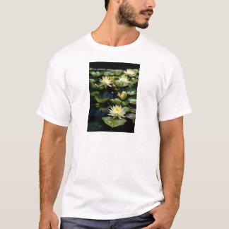 Camiseta Lotus amarelo Waterlilies