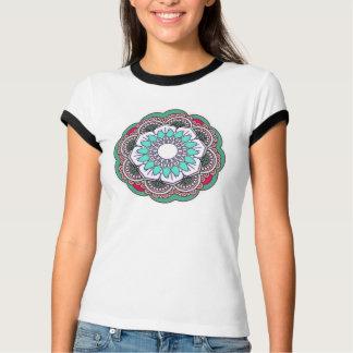 Camiseta Lotus branco elegante para trazer o bom encanto