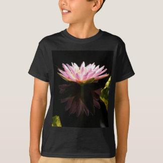 Camiseta Lotus cor-de-rosa Waterlily