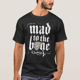 Camiseta Louco ao t-shirt do osso