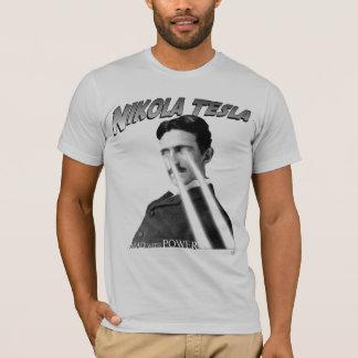 Camiseta Louco com o poder preto e branco