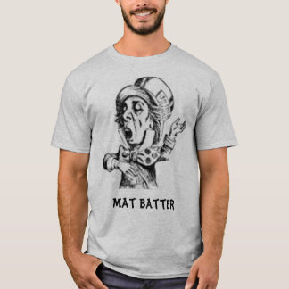Camiseta louco, massa da esteira
