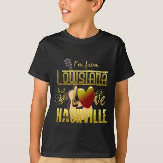Camiseta Louisiana ama o T-Shrit dos miúdos de Nashville