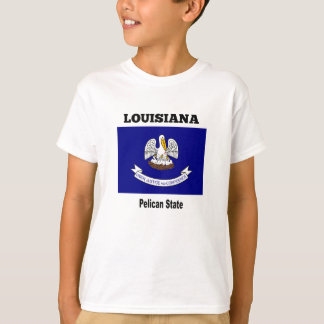 Camiseta Louisiana, estado do pelicano