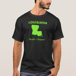 Camiseta Louisiana - miçanga > vergonha
