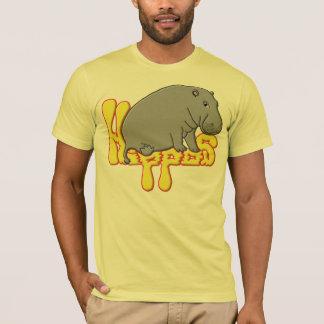 Camiseta Lourd de Hippopotame - jaune