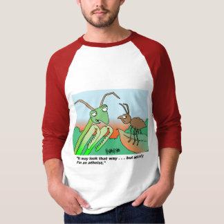 Camiseta Louva-a-deus praying de Athiest