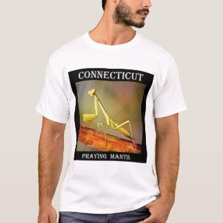 Camiseta Louva-a-deus Praying de Connecticut
