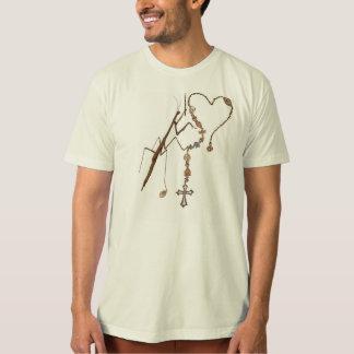 Camiseta Louva-a-deus rapinando que Praying com tudo tem!