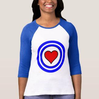 Camiseta Love Circle Women's Sleeve Raglan T-Shirt