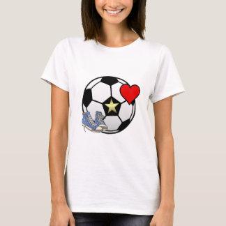 Camiseta Love Soccer Women's Basic T-Shirt
