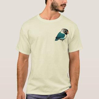 Camiseta Lovebird mascarado azul