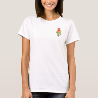 Camiseta Lovebird no branco