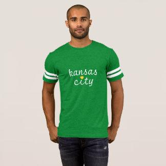 Camiseta LoveKC Blogue-Inspirou o T do coração
