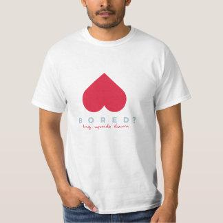 Camiseta Loveside Tee para baixo
