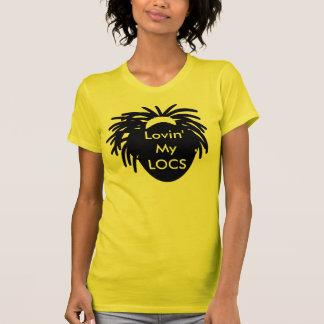 Camiseta Lovin meus LOCS