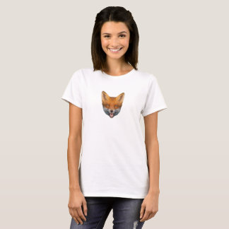 "Camiseta Low Poly fox-terrier Shirt ""girls """