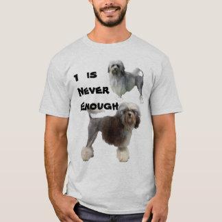 Camiseta Lowchen 1 é nunca bastante