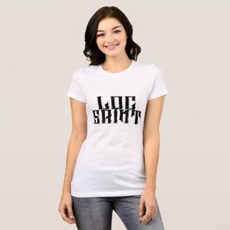 "Camiseta LS Bella voado ""cruz"" T"