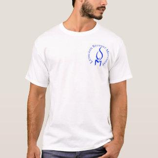 Camiseta LSM genérico.  As regiões suportam sobre