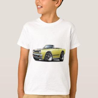 Camiseta Lt 1968 de Plymouth GTX Amarelo-Preto Capa