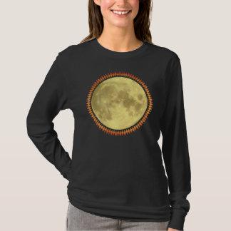Camiseta Lua cheia com franja excêntrica