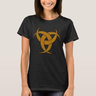 Camiseta Lua crescente tripla - mármore amarelo - 1