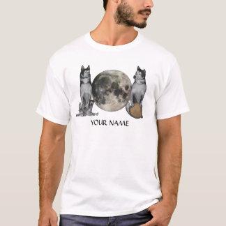 Camiseta Lua do cão de Fu