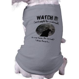 Camiseta Lua do homem-lobo