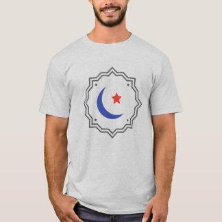 Camiseta Lua & estrela crescentes - t-shirt