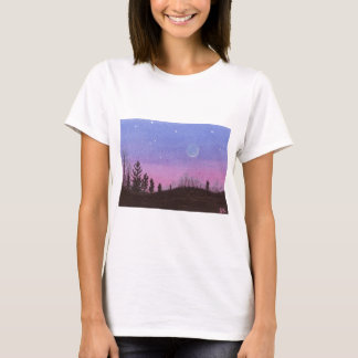 Camiseta Lua & estrelas de Lansing