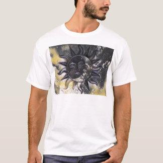 Camiseta Lua sonolento de Sun