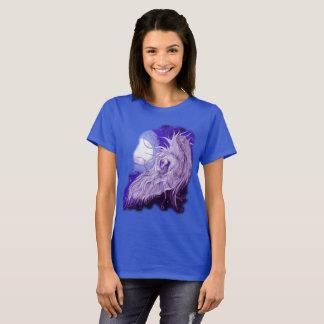 Camiseta Lua Squiggly do unicórnio