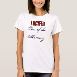 Camiseta Lucifer: Filho da manhã