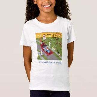 Camiseta Lucy o t-shirt da vizinhança do Weenie da