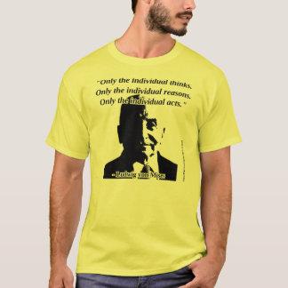 Camiseta Ludwig von Mises - ação humana