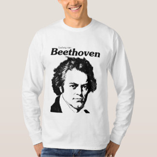 Camiseta Ludwing van Beethoven monochromatic