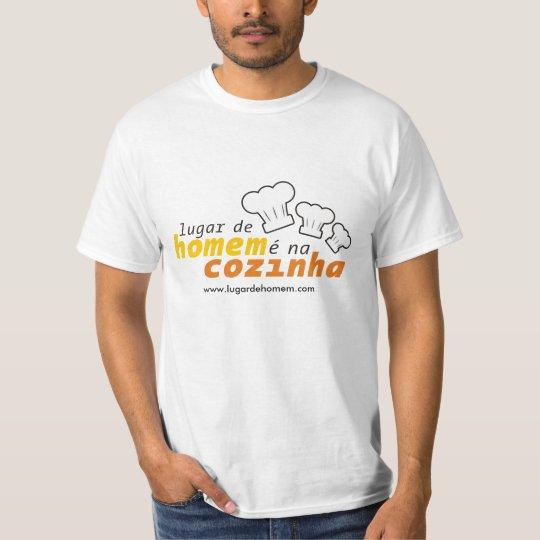 Camiseta Lugar de Homem é na Cozinha