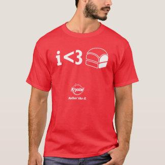 Camiseta Lugar de Krystal ó - I <3 Krystals!