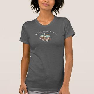 Camiseta Lugares indo +Tome seu amor, Flowerchild