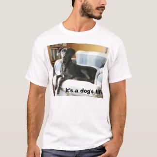 Camiseta Lunk, é a vida de um cão