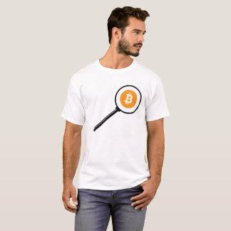 Camiseta Lupa de Bitcoin
