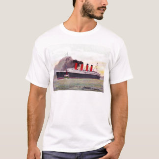 Camiseta Lusitania 1907 do RMS